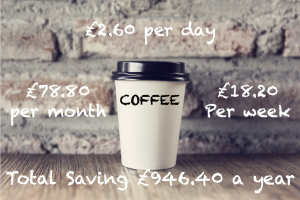 Save money on treats - coffee