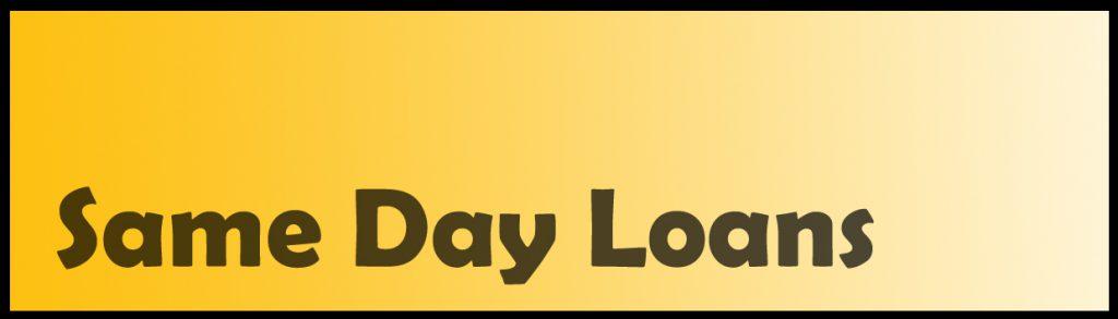 sameday loans banner