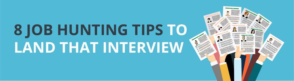 8 job Hunting tips