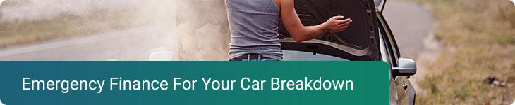 Emergency finance car breakdown